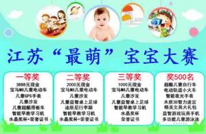 江苏最萌宝宝大赛活动微信投票操作教程